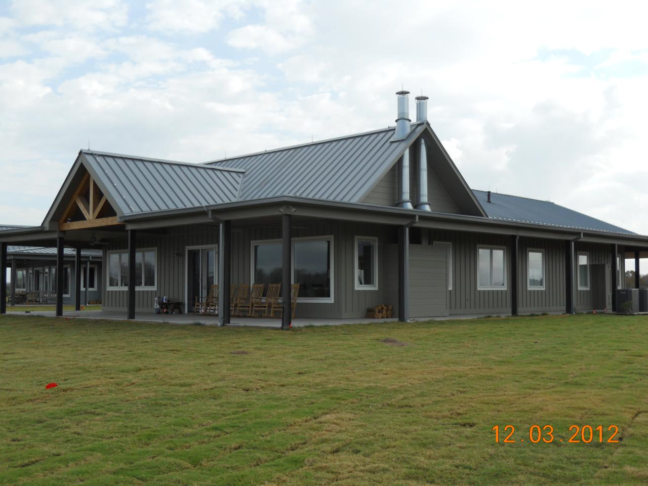 Texas Steel Home Plans further Barn House Plans also Very Simple 30 X 50 Metal Pole Barn Home In Oklahoma Hq Pictures likewise Steel Framing Kits Custom Homes further Horsebarn. on pole barns oklahoma